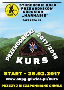 SKPG Harnasie Kurs Przewodnicki 2017/2018