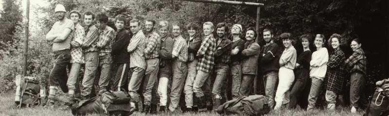 SKPG Harnasie Rajd Makowski 1990