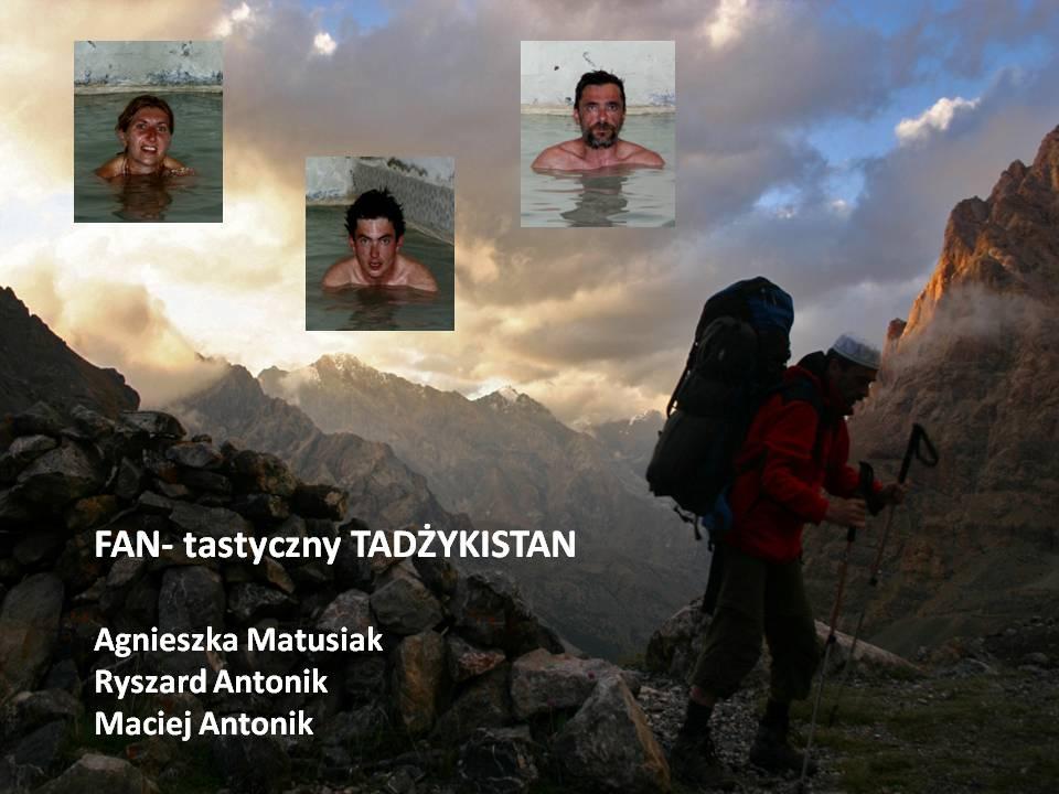 """Slajdowisko """"W górach Tadżykistanu"""""""